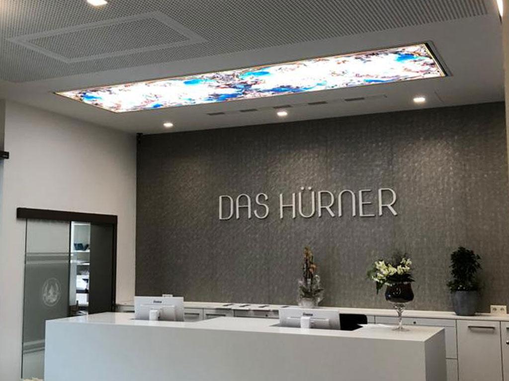 Referenzen | Hotel in Ansbach, Lobby | Stuck Stöcker Trockenbau GmbH Nürnberg