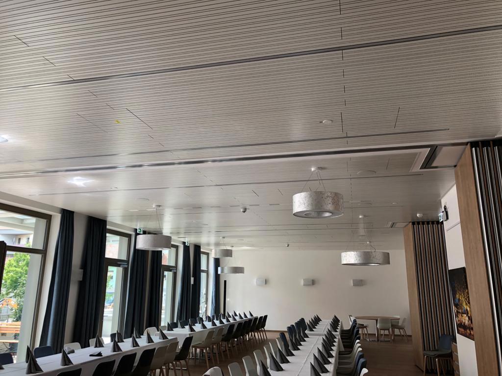 Referenzen | Hotel in Ansbach, Konferenzraum | Stuck Stöcker Trockenbau GmbH Nürnberg